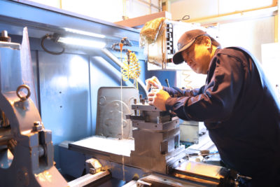 工作機械部品製造